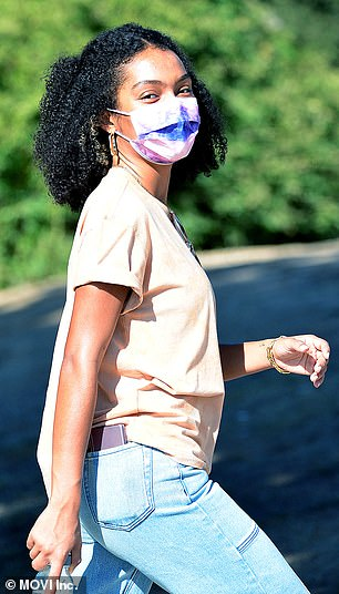 Check out Yara Shahidi in Los Angeles Park
