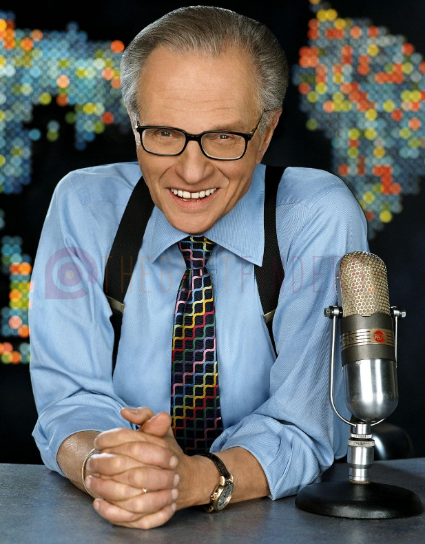 Larry King, television legend, dies at age 87